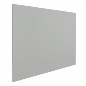 Lavagna magnetica senza profilo-100x200 cm-Grigia