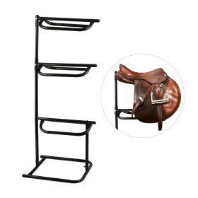 Porta sella per 3 selle da cavallo  - regolabile