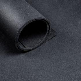 Pavimento sportivo *Premium* al metro  - Largo 1,25 metri  - Spessore 10 mm - Nero