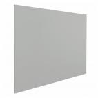 Lavagna magnetica senza profilo - 100x200 cm - Grigia